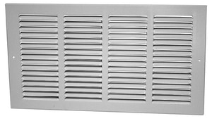 PROSELECT® 30 in. Return Air Grille with 1/2 in. Fin in White PSRG78W30