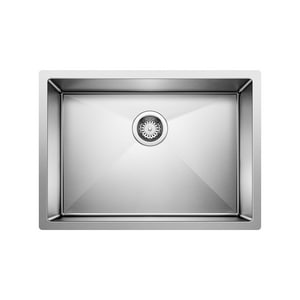 Blanco America Precision™ Single Bowl Kitchen Sink in Stainless Steel B515822