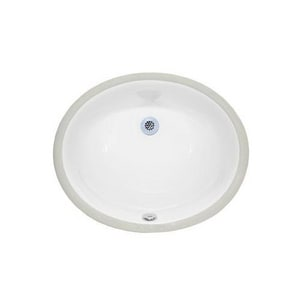 Xylem 18 in. Undermont Oval Sink XCUM177