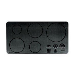 Wolf Range 36 in. Induction Cooktop Unframed in Black;Stainless Steel WCT36IU