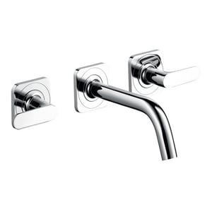AXOR Citterio M 3-Hole Lavatory Faucet Trim with Double Lever Handle AX34315