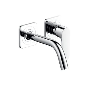 Axor Citterio M 2-Hole Wall Mount Lavatory Faucet with Single Lever Handle AX34116