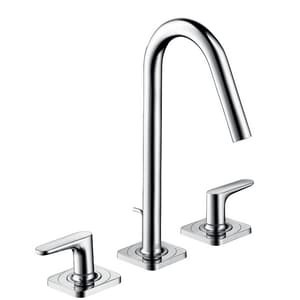 Axor Citterio M 3-Hole Lavatory Faucet with Double Lever Handle and 2-3/4 in. Spout Height AX34133