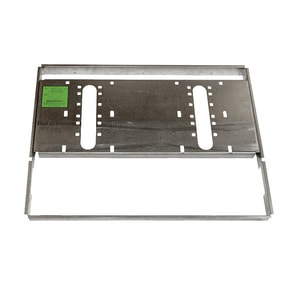 Haws 25-13/16 x 12 in. Drink Fountain Mounting Frame HMTGFRDF2