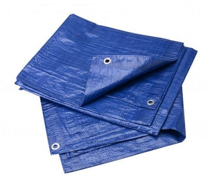 T. Christy Enterprises 9 x 12 ft. Plastic Tarp in Blue CT912B