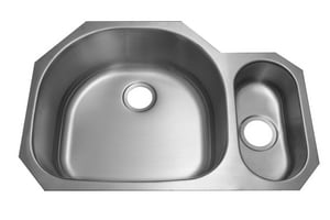 PROFLO® Left Hand 2-Bowl Undercounter Kitchen Sink PFUO903