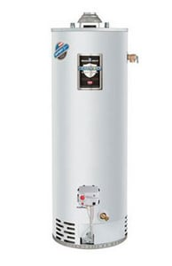 Bradford White Defender Safety System® Energy Saver Liquid Propane Gas Water Heater Top Temperature & Pressure with Titan Burner BMIT6FSX700
