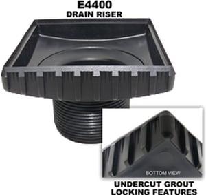 Ebbe America 3- 3/4 in. Square Drain Riser EE4400