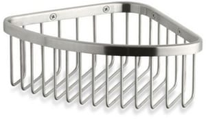 Kohler 3 x 9-1/8 x 6-1/4 in. Medium Corner Shower Basket K1896