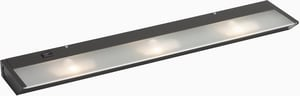 Kichler Lighting 3-Light 20W Line Volt Under Cabinet Lamp KK12013