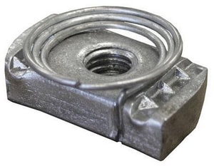 FNW 1/2 in. Plated Channel Nut with Top Spring FNW7824Z0050