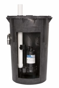 PROFLO Simplex Sewage Pump Kit With Pf93511 Pump PF93020