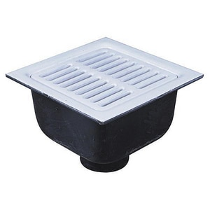 Watts Drainage Products No-Hub Cast Iron Floor Sink Body WFS73422