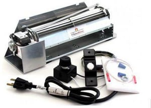 Innovative Hearth Products 12-1/2 in. Blower Kit with Mount Speed Control I80L86
