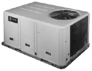 American Standard HVAC 4 Tons 230 V Standard Efficiency Convertible Cooling Packaged Unit ATSC048E3E0A0000