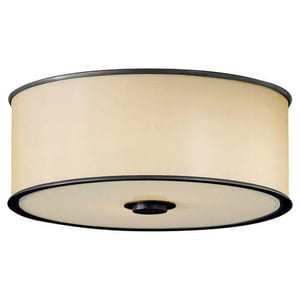 Murray Feiss Industries Casual Luxury 60W 2-Light Flushmount Ceiling Fixture MFM291