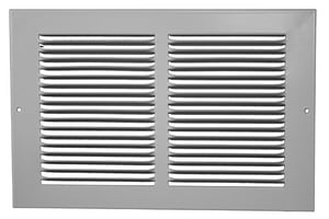 PROSELECT® 12 x 10 in. Return Air Grill with 1/3 in. Fin in White PSRG3W1210