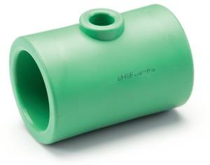 Aquatherm Female Polypropylene  Reducing Tee in Green A01135