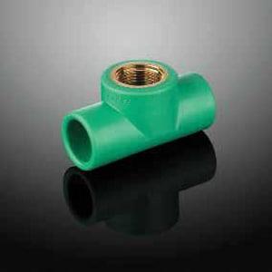 Aquatherm FIP Reducing Polypropylene Transitional Tee A0125010