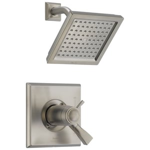Delta Faucet Dryden™ Thermostatic Shower Trim Kit with Single Lever Handle and 2-Function Showerhead (Trim Only) DT17T251