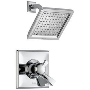 Delta Faucet Dryden™ Shower Trim Kit with Single Lever Handle, 1-Function Showerhead and Integrated Volume Control (Trim Only) DT17251