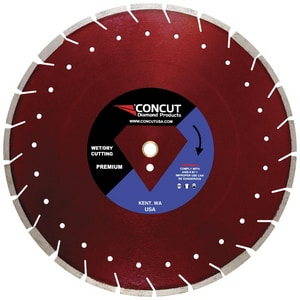 Concut Diamond Products 14 in. Cured Concrete with Asphalt Overlay Blade CPDSCOMBO14