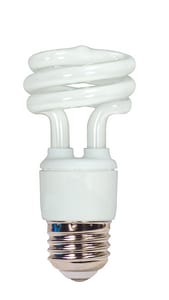 Satco Mini Spiral Compact Fluorescent Medium Base Bulb SS7214