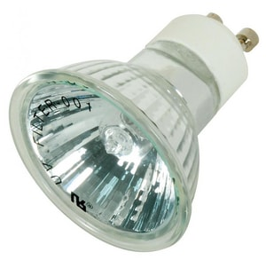 Satco 50W MR16 Dimmable Halogen Light Bulb with GU10 Base SS4194