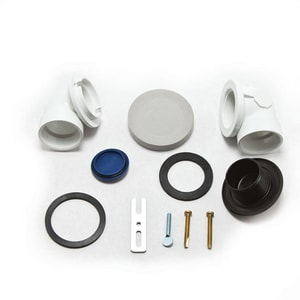 Moen M-Pact™ Rough-In Kit with Test Plugs Plastic M140690
