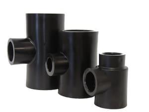 B & D Mfg. Socket Fusion Reducing HDPE Tee PEIHSFT