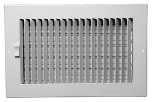 PROSELECT® 12 in. Steel Ceiling/Sidewall Register in White PS1WW12