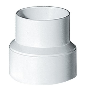 Deflecto 4 in. PVC Increaser Reducer DIRB43