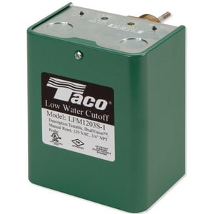 Taco Low Water Cleanout with 120 V Vacuum Manual Probe TLFM1203S1