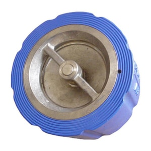 FNW 125# Cast Iron Wafer Style Silent Check Valve FNW681