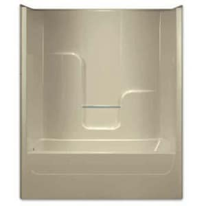 Aquarius Industries Luxury 60 x 32 in. Tub and Shower with Left Hand Drain AG6004TSLP3