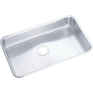 Elkay Gourmet® Undercounter Kitchen Sink in Satin EELUHAD281645