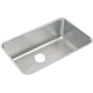Elkay 1-Bowl Under-Counter Laundry Sink in Lustertone EPLAUH281612