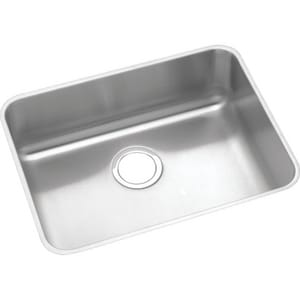 Elkay Lustertone® 21 in. 1-Bowl Stainless Steel Undermount Kitchen Sink EELUHAD211550