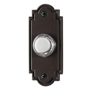 Broan Nutone Push Button in Bronze NPB15LBR