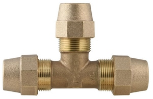 Ford Meter Box Grip Joint Water Service Brass Tee FT444GNL