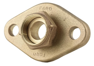 Ford Meter Box 1x1-1/2 in. Flange Meter Adapter Pressure Relief FA46NL