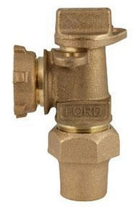 Ford Meter Box 1-13/16 in. Flare x Meter Angle Supply Stop Key Valve FAV92324WNL
