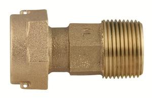 Ford Meter Box 2-1/2 in. Meter Swivel x MIP Swivel Brass Coupling FC382425NL