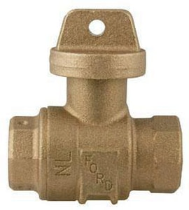 Ford Meter Box 3-3/16 in. Ball Valve FB1144NL