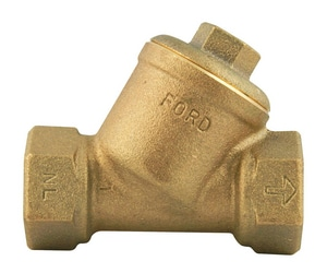 Ford Meter Box FIP Straight Check Valve FHS11NL