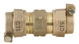 Ford Meter Box CTS Pack Joint Brass Straight Coupling FC443NL