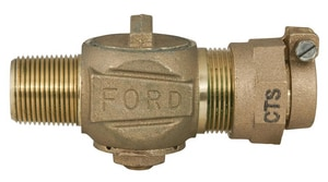 Ford Meter Box MIP x CTS Compression Corporation Stop FF1100NL
