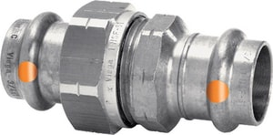 Viega North America Press x Press 304L Stainless Steel Union V86015