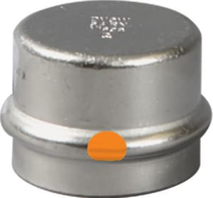 Viega Press 304L Stainless Steel Cap V8536