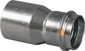 Viega FTG x Press 304L Stainless Steel Reducer with FKM Sealing Element V852